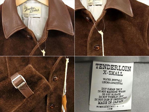 テンダーロインT-LEATHER JKT Wレザージャケット