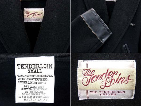 テンダーロイン T-RAIL COAT コート S 黒