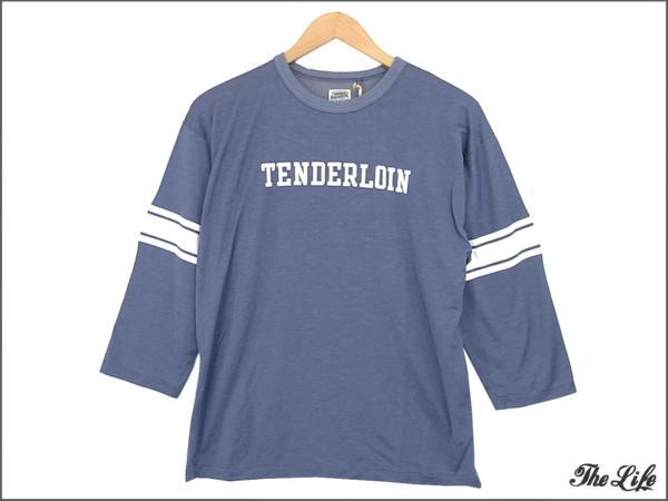 【販売情報】TENDERLOINテンダーロインT-NFL 3/4TシャツS/パープル