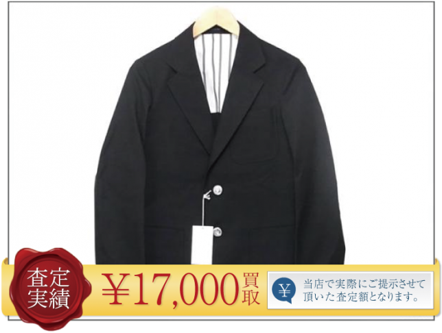 TSJスタイリスト ジャパン ホップサック3BジャケットXS/TSJJ-54701-02/the stylist japan【査定実績紹介】